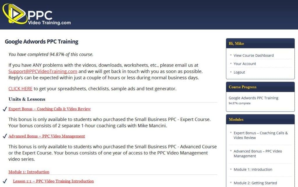 PPC Training Course